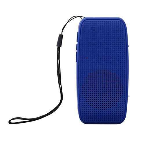Draadloze Bluetooth luidspreker Sound Bar kolom luidspreker polsband TF-kaart HiFi-boxen China Blue