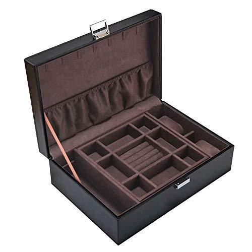 FGDSA Caja de Reloj de Madera, Soporte de exhibición/Juego de Caja/Caja de Almacenamiento para Relojes de joyería, Caja de colección de Pulseras Caja de presentación de Relojes