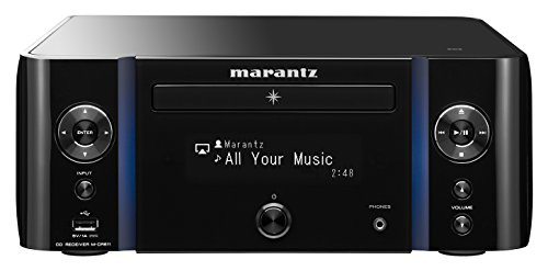 Marantz M-CR611 Melody Media (60 W, 90 dB, 5 Hz - 22 kHz) zwart