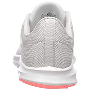 Nike Women's Downshifter 9 Running Shoe, vast Grey/Lava Glow-Summit White, 9.5 Regular US