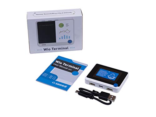 Iunius Seeed Studio Wio Terminal: ATSAMD51 Core Dev Board für Raspberry Pi mit Realtek RTL8720DN BLE 5.0 & Wi-Fi 2.4G/5G