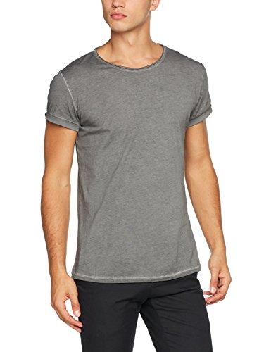 Tigha Herren Milo T-Shirt, Grau (Vintage Grey 703), (Herstellergröße: M)