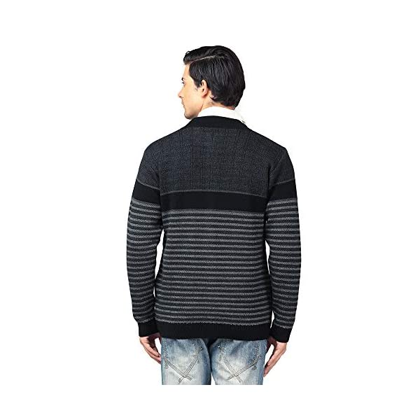 aarbee Men's Wool Round Neck Sweater 2 41XcH23IqnL. SL500