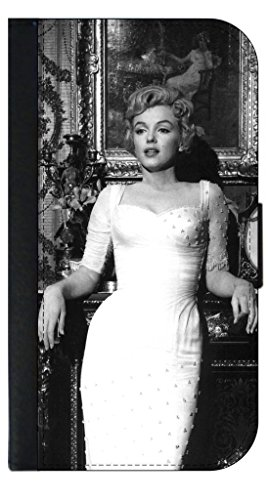 Marilyn Monroe - Apple iPhone 4/4s/5/5s/5c/6/6s/6+/6s+/7/7+/8/8+ Wallet Style Phone Case - Select Your Compatible Phone Model