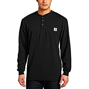 Carhartt Men's Workwear Pocket Henley Shirt