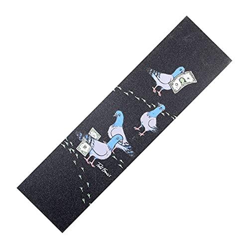 Skateboard 1 unids 83x23cm Monopatín de la plataforma de la cubierta de la plataforma de la cinta de la cinta de la etiqueta engomada de la placa de Grip de la etiqueta engomada antideslizante Freesty