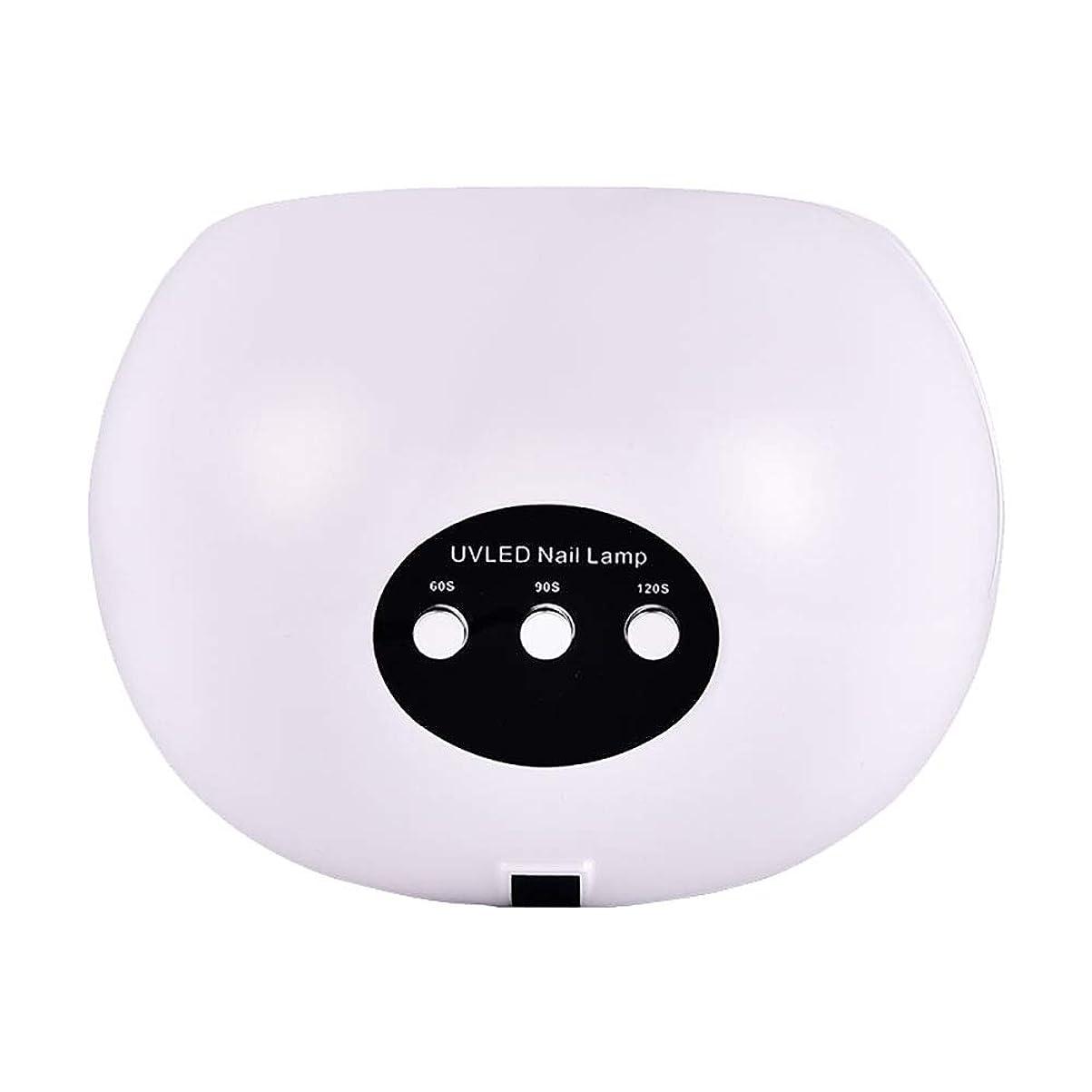 計画的ループパッド釘のドライヤー - 自動赤外線センサー、二重光源のLEDランプのゲルのドライヤーのマニキュアが付いている紫外線携帯用LEDの釘ランプ