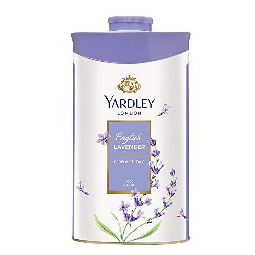 Yardley London English Lavender Perfumed Deodorizing Talc Talcum Powder 100gm by Yardley