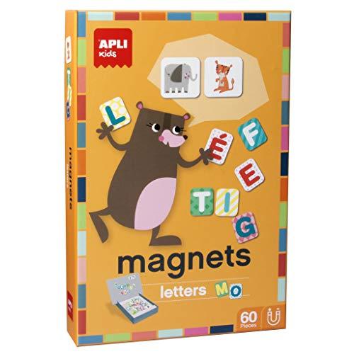 APLI Kids- Letras Juego magnético, Multicolor (16816)