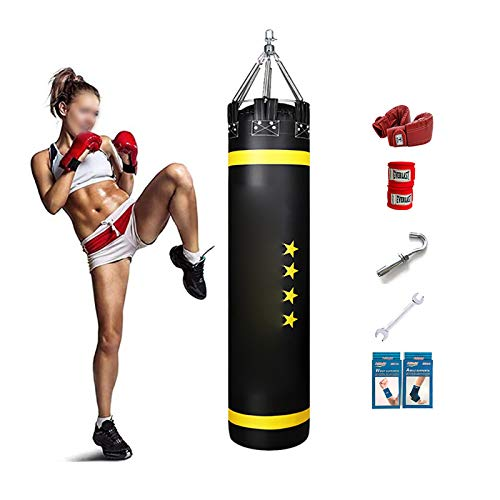 AJOYCN Erwachsene Fitness Boxsack Für...
