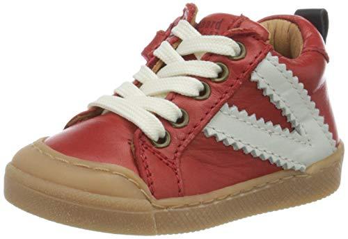 Bisgaard Unisex Baby Sylvester Sneaker, Rot (Red 1903), 25 EU