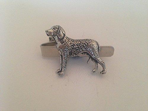 T23Finnisch Hound Englisch Zinn Emblem auf einem Krawatte Clip 4cm handgefertigt in Sheffield kommt mit prideindetails Geschenk-Box