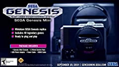 The iconic SEGA Genesis console that defined a generation of gaming returns in a slick, miniaturized unit. The SEGA Genesis Mini console is loaded with 42 legendary games and is plug and play ready right out of the box! Box contents: Sega Genesis Min...