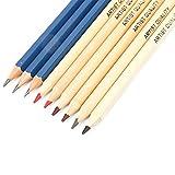 Juego de lápices de colores, lápices de colores solubles en agua, para dibujar, dibujar y pintar Suministros de arte Herramientas de pintura Artista, adulto