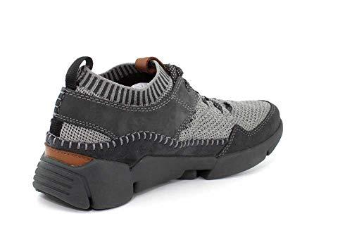 CLARKS Mens Tri Active Up Gore-TEX Black Sneaker - 11.5