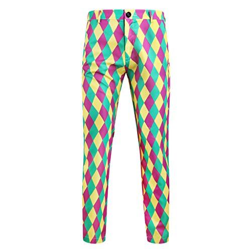 Mens Slim Fit Pencil Pants Cargo Pocket Twill Jogger Fashion Long Black Pants (X-Large)