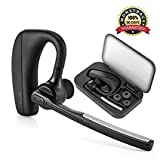 Oreillette Bluetooth V4.1, Torondo Oreillette Bluetooth sans Fil Wireless Headset Kit piéton Mains Libres Écouteur Mono avec Micro pour iPhone, Samsung, Galaxy, HTC, LG, Sony,PC et Autres