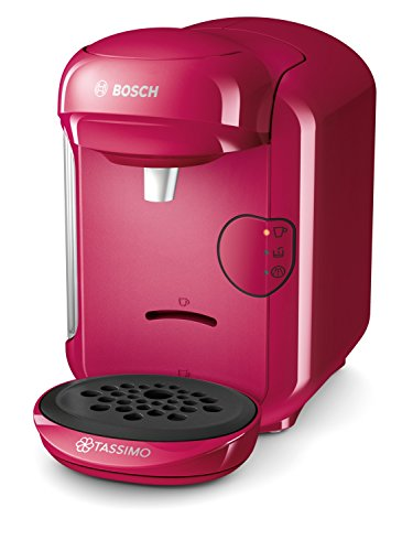 Bosch TAS1401 Tassimo Vivy 2 Kapselmaschine (1300 Watt, über 40 Getränke, vollautomatisch, einfache Zubereitung, platzsparend, Behälter...