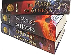 Last 3 books collection of heroes of Olympus (Mark of Athena, House of Hades & Blood of Olympus)