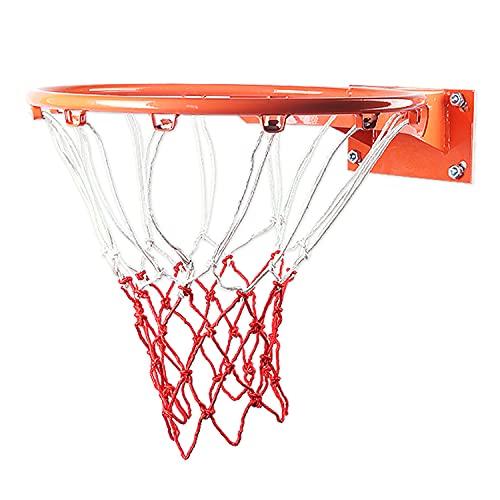 ZZLYY Canasta De Baloncesto Exterior, Juguetes para Niños Y Juegos para Jóvenes Aro De Baloncesto, Aro De Baloncesto Interior con 2 Redes De Baloncesto,E