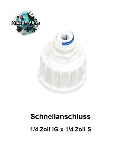 Planet-Aqua Wasseranschluss Adapter 1/4