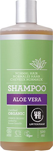 Urtekram Aloe Vera Shampoo Bio, normales Haar, 500 ml