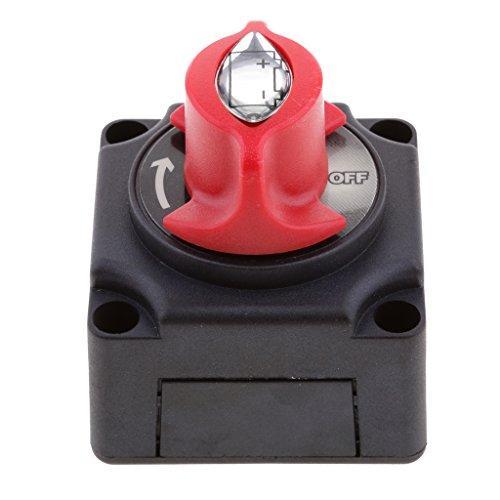 Sharplace Interrupteur de Batterie Coupe Circuit Prise Déconnexion Batterie de Moteur pour Bateau 275A 48V