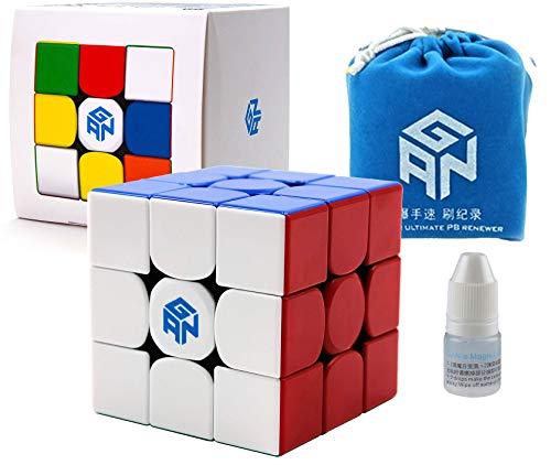 GAN 356 R S Speed Cube Gans 356R Stickerless RS 3x3x3 Speedcube GES V3 System