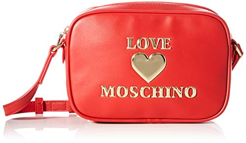 Love Moschino SS21, BORSA A SPALLA Donna, Rosso, Normal