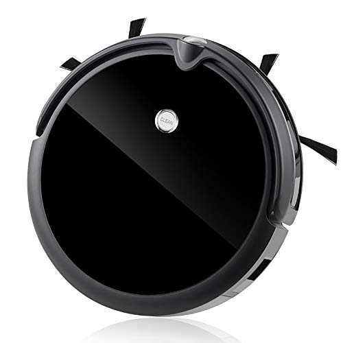 DONG HAI Robot Bluetooth Conectado para Aspiradoras, Muy Delgado Y con 1200Pa Succión, Tranquilo, Gyro Navegación De Precisión Auto-Robótico De Carga para Aspiradoras
