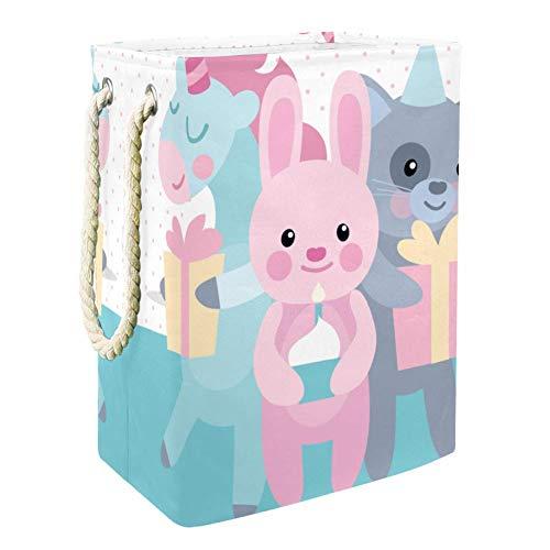 Belle licorne (3) Panier de Rangement de Jouets Pour Enfants de Grande Capacité Boîte de Rangement Bin Salle de jeux Enfants Garçons Filles Collection Jouets