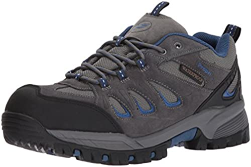 Propet Men& 039;s Ridge Walker Low Stiefel, grau Blau, 11 M US
