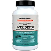 Powerful Liver Support – 1400mg Complex | Highest Strength Available with 20 Active Ingredients | Boosted with Milk Thistle, CoQ10, Turmeric, Vitamins and More | 120 Capsules – Two Month Supply