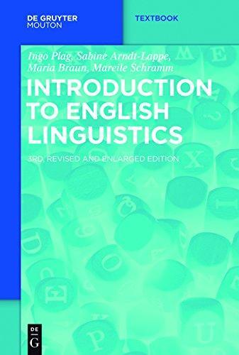 Introduction to English Linguistics (Mouton Textbook) (English Edition)