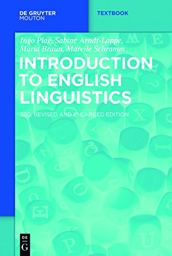 Introduction to English Linguistics (Mouton Textbook) (English Edition)