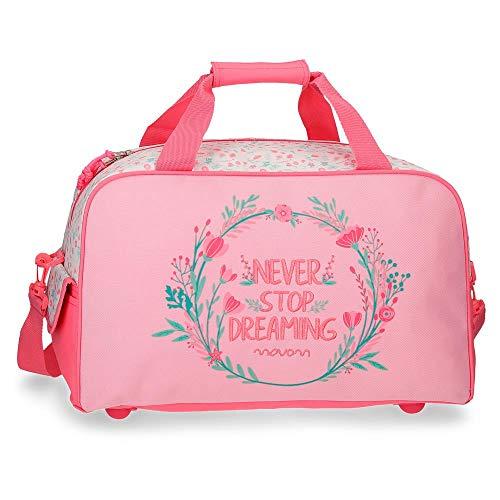 Movom Never Stop Bolsa de Viaje Rosa 45x26x20 cms Poliéster 23.4L