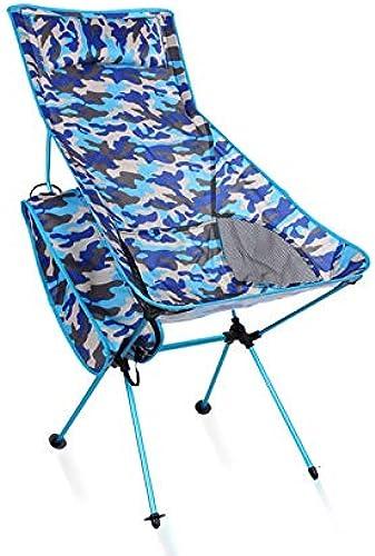 Chaise De Pliage Extérieure Camouflage En Aluminium Pliante Chaise De Plage Multi-fonction Montagne Camping Loisirs Chaise Longue Chaise Pliante