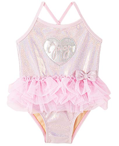 Juicy Couture Baby Girls' Swimsuit, Pink, 12M