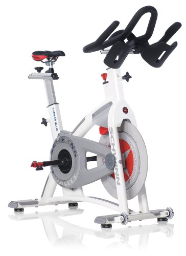 IRON COMPANY Schwinn Fitness AC Performance Plus with Carbon Blue Belt Drive - Indoor Cycling Bike