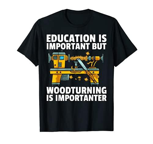 Regalo de torneado para carpintero o carpintero Camiseta
