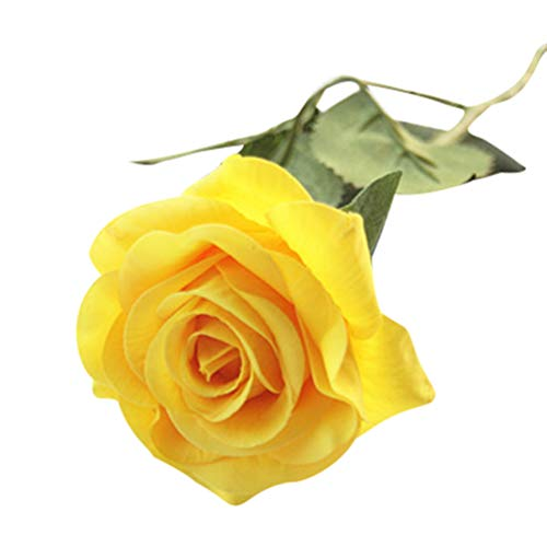 Dooxii Rose Flores Artificiales Decoración para Hogar Fiesta de Boda de Jardín