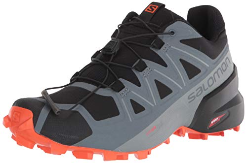Salomon Speedcross 5 Trail Running para Hombre, Color Negro, Talla 45 1/3 EU