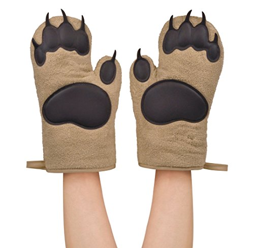 Fred and Friends Oven Mitts Bear, Hands - 5130360