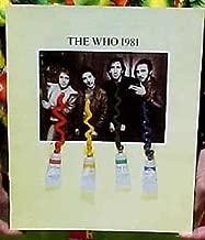 The Who 1981 Tour Program