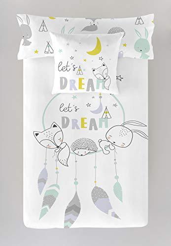 COOL KIDS Funda nórdica Reversible Lets Dream Cama 90