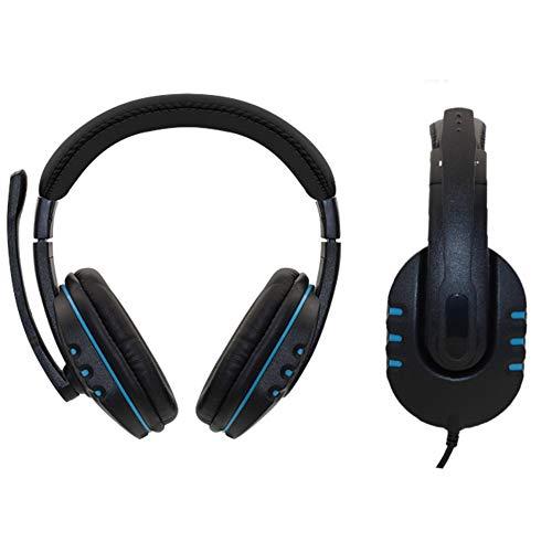 axGear USB-Stereo-Gaming-Headset mit Lautstärkeregler, Geräuschunterdrückung