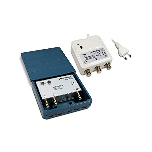 Metronic 432171 - Amplificador TV, Blanco