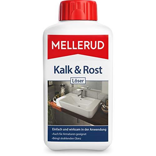 Mellerud Kalk & Rost Löser – Intensive Reinigung für strahlenden Glanz und hygienische Sauberkeit für alle säurebeständigen Oberflächen – 1 x 0,5 l