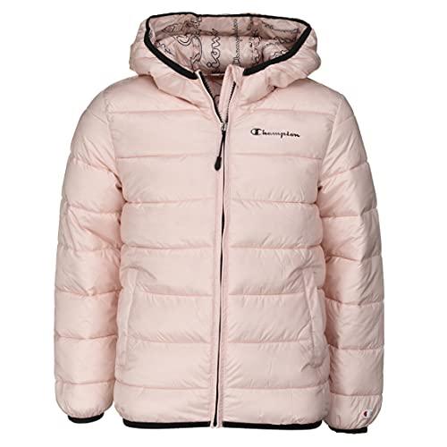 Champion Legacy Outdoor Hooded Jacket, Rose, 13-14 Ans Garçon