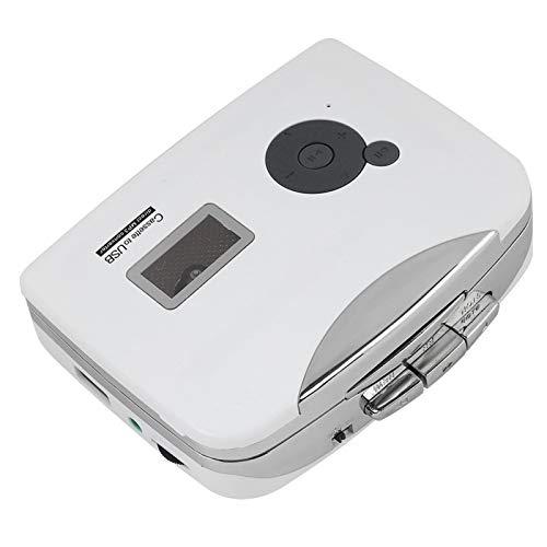 DAUERHAFT Convertidor de Cassette Ligero a MP3 Convertidor de Cassette portátil de...